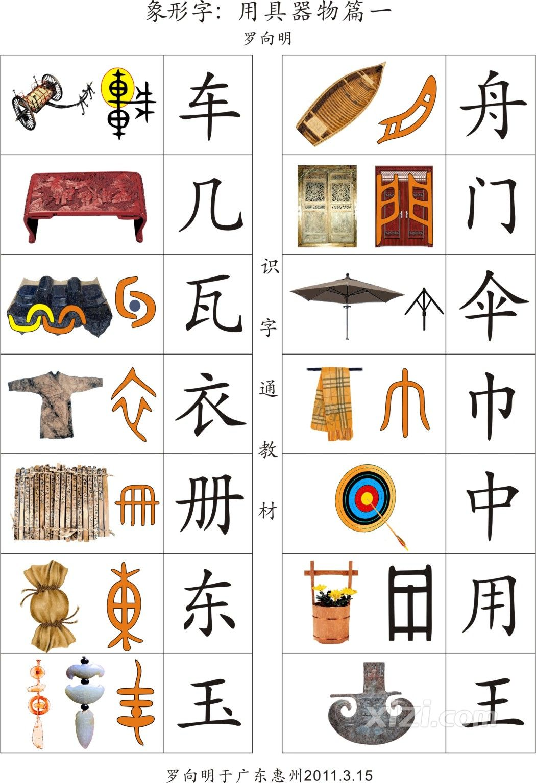 象形字教图